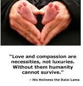 baby feet in hands image_Dalai Lama quote